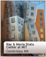 Ray & Maria Stata Center at MIT